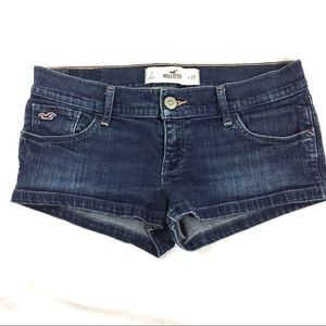 Hollister Lowrise Jean Shorts